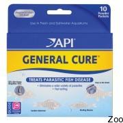 Лекарство для рыб API General Cure Powder Packets от всех форм паразитов (А15Р)