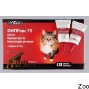 Капли Fiprex против блох и клещей для кошек