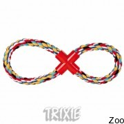 """Trixie 3278 грызак веревочный """"8"""" 280гр / 35см"""