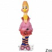 Trixie курица-панк с пищалкой 28см (35504)