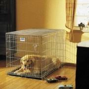 Savic клетка Dog Residence оцинкованная с пластиковым поддоном