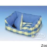 Nobby лежак квадратный со съемной подушкой синий (69472)
