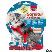 Trixie шлейка для котят, нейлон 19-31см, 8мм (4182)