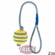 Trixie мяч резиновый на светящемся канате 5Cм/40Cм (34961)