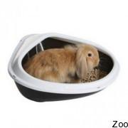 Угловой туалет Savic Concha XL для кроликов (0111)