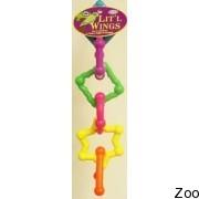 Пластиковая игрушка Vo-Toys Little Wings для крупных попугаев (75525)
