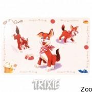 Trixie 24543 коврик под миску для еды 44х28 см