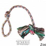 Trixie 3279 аппорт веревочный разноцветный с ручкой 270гр:70см