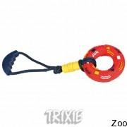 Trixie 3249 кольцо с звуком с ручкой 50см