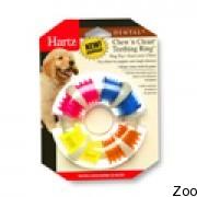 Hartz Chew'N Clean Teeth игрушка кольцо для очищения зубов и масажа десен с запахом бекона д/собак H99395