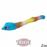 Trixie мышь плюшевая длинная 28см (4051)