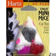 Hartz мышки меховые 5 штук н95986