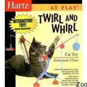 Hartz карусель из удочек с насадками для кошек н 98629