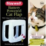 Дверцы с программным ключом Staywell для кошек (st 500)