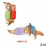 Игрушка Camon Бочонок с перьями 2 шт для кошек (AG011/C)