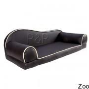 R&R Corparation Limited диван для собаки коричневая кожа (Pls 056)