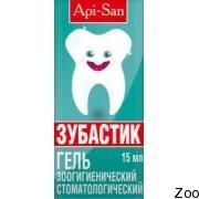 Гель стоматологический Апи-Сан Зубастик для собак и котов