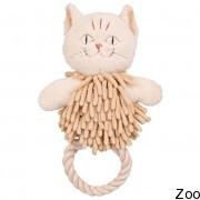 Trixie плюшевый кот с канатом с звуковым эффектом (35938)