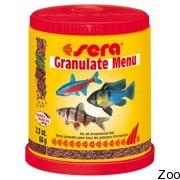 Гранулированный корм Sera Granulat-Menu для аквариумов со смешанным сообществом рыб (00070)