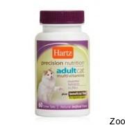 Hartz Adult Cat Vitamins - мультивитаминный комплекс для кошек (н 11460)