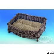 Nobby диван плетеный с плюшевой подушкой (75661)