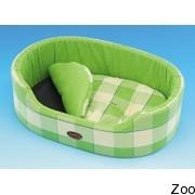 Nobby лежак овальный зеленый (69488; 69489;69490)
