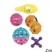 Trixie набор пластиковых игрушек погремушек (45321)