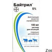 Препарат Bayer Байтрил для собак и котов