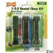 Nylabone Nutri Dent 1-2-3 Dental Chew Kit
