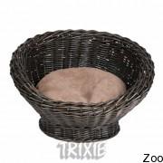 Trixie корзина плетёная с матрасом для собак (28173)
