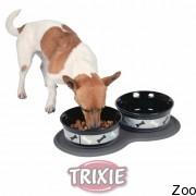 Trixie коврик под миску д/еды (резина) 45X25Cм (24561)