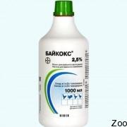 Кокцидиостатик Bayer Байкокс 2,5%