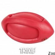 Trixie 3290 мяч регби с песчалкой резиновый, 12 см (34831)