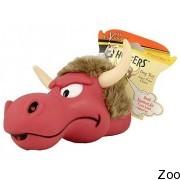 Hartz игрушка для собак - резиновая голова животного с запахом (н 00481)