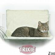 Trixie гамак на радиатор для кота регулируемый плюшевый (4321)