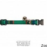 Trixie ошейник для кошки с колокольчиком в клетку (4156)