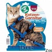 Trixie шлея для котов регулируемая 26/44см/10мм (4195)