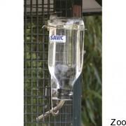 Бутылка Savic Glass Bottle с креплением в клетку (5946)