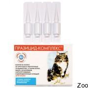 Апи-Сан Празицид Комплекс для взрослых кошек