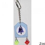 Игрушка с колокольчиком Vo-Toys Liberty with bells для маленьких птиц (74313)