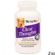 Nutri-Vet Clear Thoughs «ясное мышление» жевательные таблетки для собак (41824)