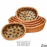Trixie корзина для собак с ковриком (28211-28214)