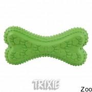 Trixie 34872 кость с писчалкой (резина), 15 см