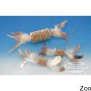 Nobby пробковая игрушка для котов с перьями (80194)