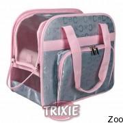 """Trixie сумка """"Alisha"""" нейлоновая серебристо-розовая (36422)"""