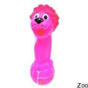 Виниловая игрушка Pet Impex с головой льва для собак (TJP0423)