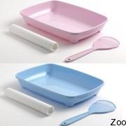 Moderna арист-о-трэй туалет для котят с лопаткой и пакетами, 27,9х37х6,2см