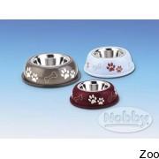 Nobby миска металлическая в пластиковом корпусе (79096; 79097; 79098)