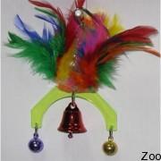 Игрушка с колокольчиком Vo-Toys Mobile with bells для маленьких птиц (74315)