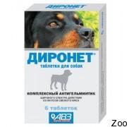 Противоглистный препарат Агроветзащита Диронет для кошек и собак